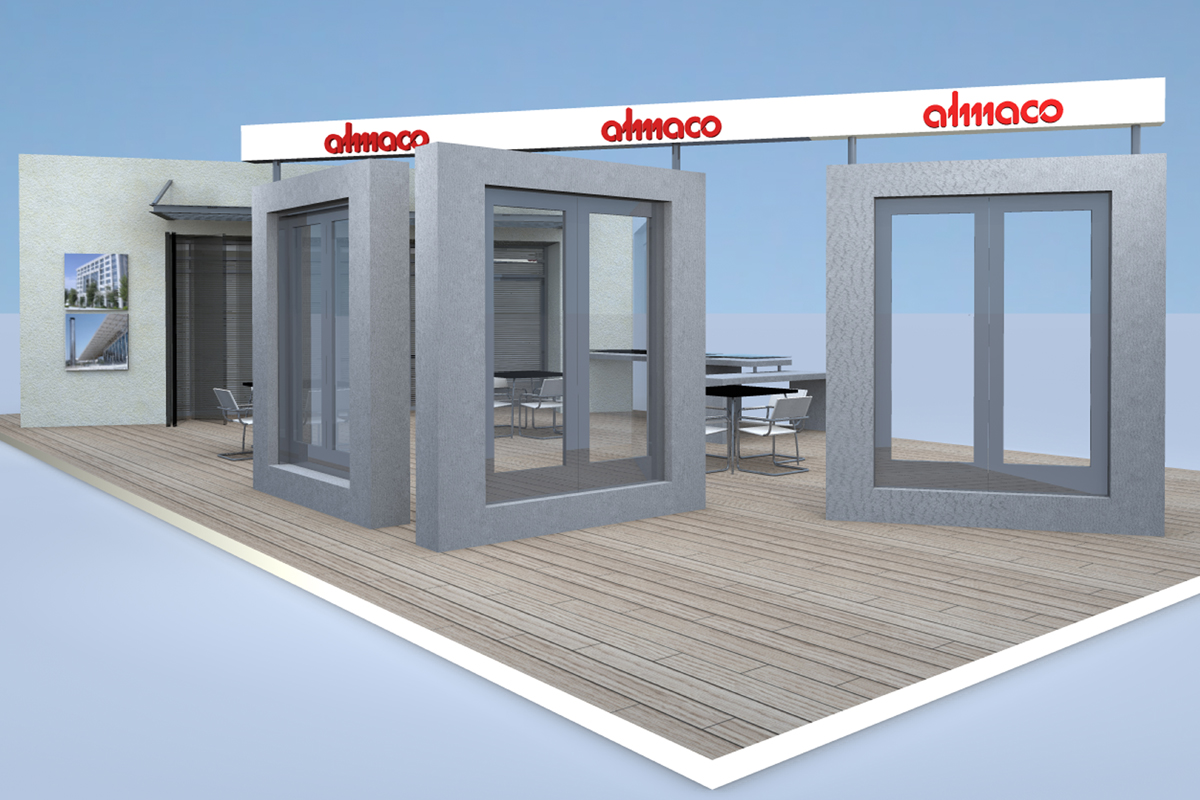 Almaco Exhibition Pavillion 1 - Persective 3