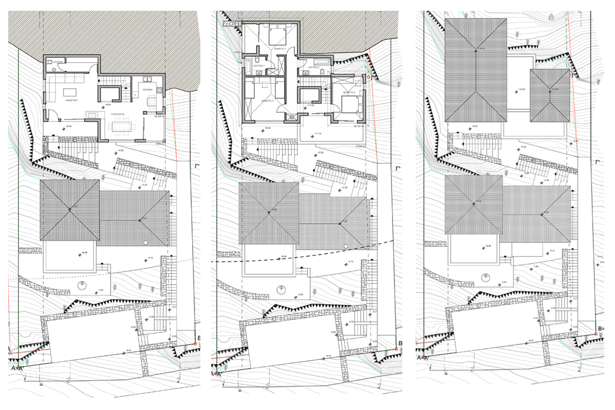 Residential Assembly in Thrakomakedones (2) - Plans 2